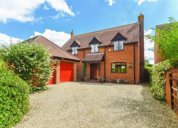Thumbnail 4 bed detached house for sale in Worminghall Road, Ickford, Aylesbury