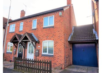 Thumbnail 2 bed semi-detached house for sale in Glebelands Road, Leicester