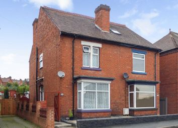 Thumbnail 3 bed semi-detached house for sale in Dover Road, Horninglow, Burton-On-Trent