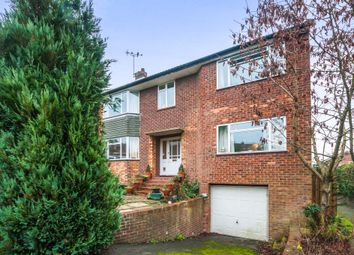 Thumbnail 5 bed semi-detached house for sale in Hawthorne Close, Marlow