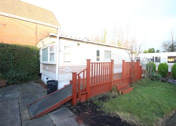 Thumbnail 1 bed mobile/park home for sale in Lawsons Road, Thornton-Cleveleys
