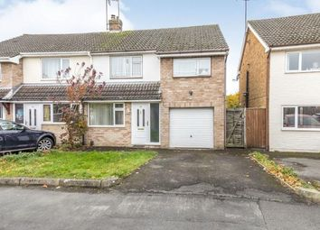 Thumbnail 3 bed semi-detached house for sale in Porchester Road, Hucclecote, Gloucester, Gloucestershire