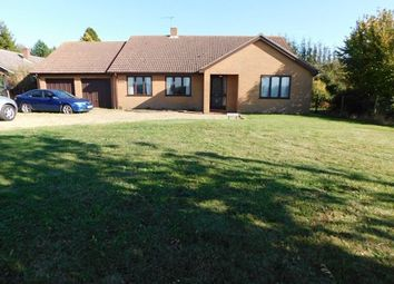 Thumbnail 4 bed detached bungalow for sale in Station Road, Cotton, Stowmarket