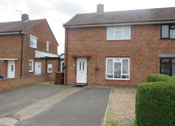 Thumbnail 3 bedroom semi-detached house for sale in Woodhall Drive, Lincoln