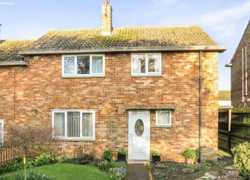 Thumbnail 3 bed semi-detached house for sale in The Drove, Nassington, Peterborough