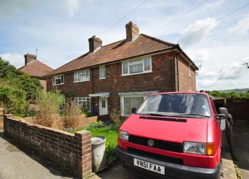 Thumbnail 3 bed semi-detached house to rent in East Way, Lewes