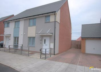 Thumbnail 3 bedroom semi-detached house to rent in Armstrong Road, Newcastle Upon Tyne