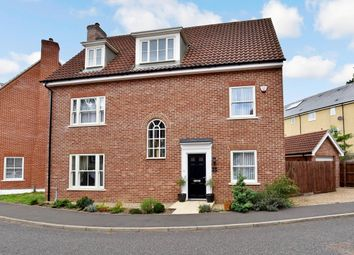 Thumbnail 6 bed detached house for sale in Trafalgar Way, Thetford, Norfolk