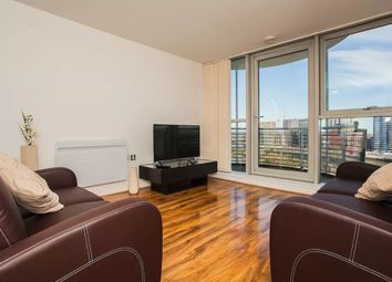 Thumbnail 2 bed flat to rent in Blackwall Way, East India Dock, London