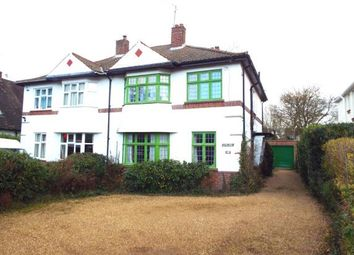 Thumbnail 4 bed semi-detached house for sale in South Wootton, Kings Lynn, Norfolk