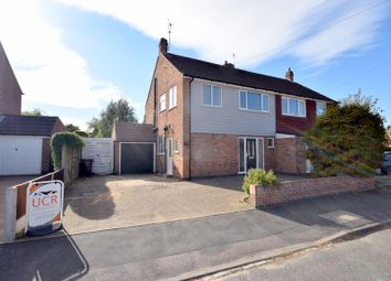 Thumbnail 3 bed semi-detached house for sale in Linford Road, Loughborough