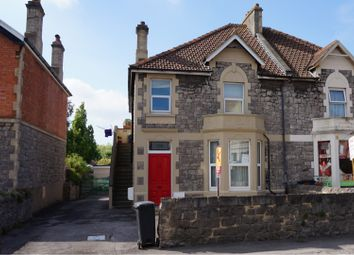 Thumbnail 2 bed flat for sale in Milton Road, Weston-Super-Mare