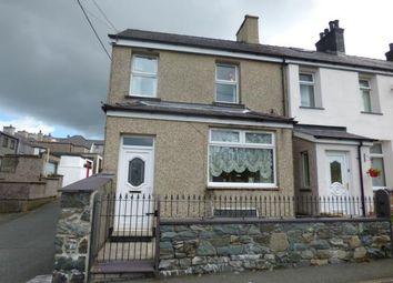 Thumbnail 2 bed end terrace house for sale in Caradog Place, Deiniolen, Caernarfon, Gwynedd