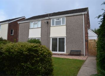 Thumbnail 2 bed semi-detached house for sale in Cross Acre, West Cross, Swansea