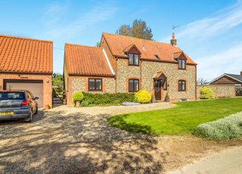 Thumbnail 3 bedroom detached house for sale in Thornage Road, Sharrington, Melton Constable