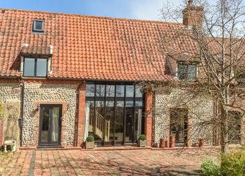 Thumbnail 2 bed barn conversion for sale in Heather Cottages, Roughton Road, Thorpe Market, Norwich