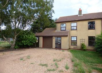 Thumbnail 3 bed semi-detached house for sale in Marriotts Drove, Whittlesey, Peterborough, Cambridgeshire