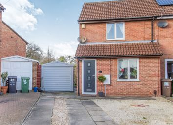 Thumbnail 2 bed town house for sale in Glebe Close, Mountsorrel, Loughborough, Leicestershire
