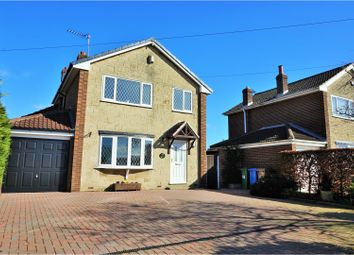 Thumbnail 4 bed detached house for sale in Main Street, Gowdall, Goole