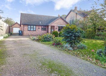 Thumbnail 3 bed detached bungalow for sale in Marlborough Close, Yaxley, Peterborough, Cambridgeshire.