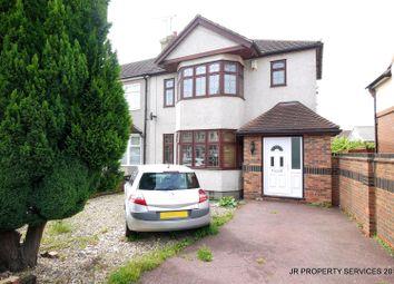 Thumbnail 4 bed semi-detached house for sale in Boleyn Avenue, Enfield