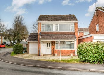 Thumbnail 3 bed detached house for sale in Cheswick Close, Winyates Green, Redditch