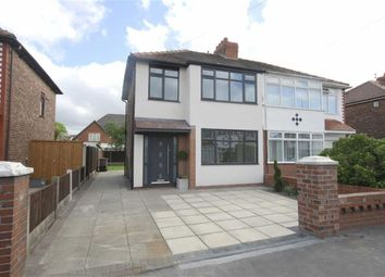 Thumbnail 3 bed semi-detached house for sale in Queens Drive, St Helens