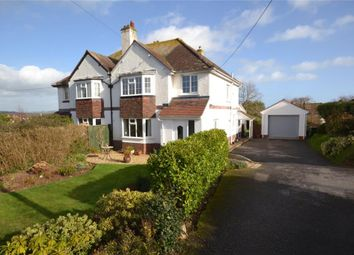 Thumbnail 3 bed semi-detached house for sale in East Budleigh Road, Budleigh Salterton, Devon