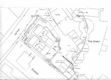 Thumbnail Land for sale in Building Plot, High Street, Milton-Under-Wychwood