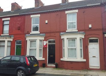 Thumbnail 2 bedroom terraced house to rent in Southgate Road, Liverpool