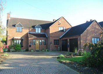 Thumbnail 5 bedroom detached house for sale in Aslackby Road, Kirkby Underwood, Bourne, Lincolnshire
