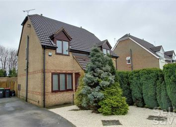 Thumbnail 2 bed semi-detached house for sale in Kingswood Drive, Kirkby-In-Ashfield, Nottinghamshire