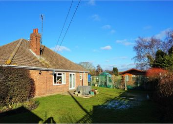 Thumbnail 4 bed detached bungalow for sale in Low Road, Stowbridge
