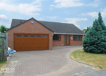 Thumbnail 3 bed detached bungalow for sale in Lea Vale, Broadmeadows, South Normanton, Alfreton, Derbyshire