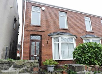 Thumbnail 2 bed semi-detached house for sale in Tirpenry Street, Morriston, Swansea