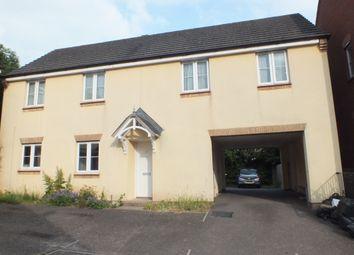 Thumbnail 2 bed maisonette to rent in Bishops Drive, Copplestone, Crediton, Devon