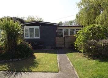 Thumbnail 3 bed mobile/park home for sale in Riverside, Glan Gwna Holiday Park, Caeathro