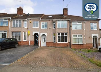 Thumbnail 4 bed terraced house for sale in Cranford Road, Coundon, Coventry