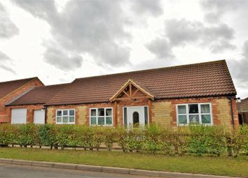 Thumbnail 2 bed detached bungalow for sale in Swinstead Road, Corby Glen, Grantham