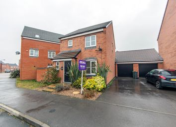 Thumbnail 3 bedroom detached house for sale in Long Swath Way, Birstall