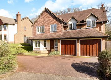 Thumbnail 5 bed detached house to rent in Rushmere Place, Englefield Green