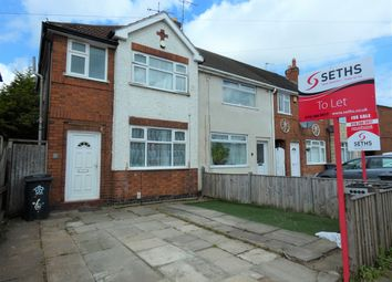 Thumbnail 3 bed semi-detached house to rent in Tiverton Avenue, Belgrave, Leicester