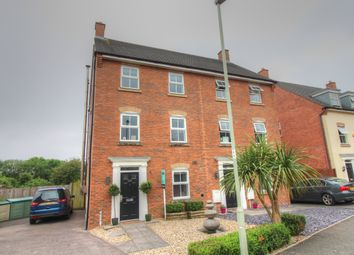 Thumbnail 4 bed town house for sale in Longacres, Brackla, Bridgend