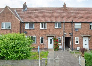 Thumbnail 3 bed terraced house for sale in Crossfield Crescent, Fulford, York