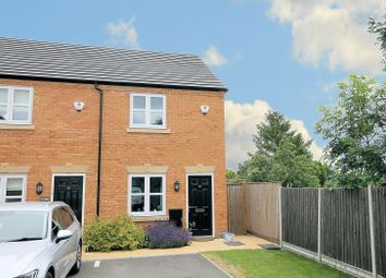 Thumbnail 2 bed end terrace house for sale in Croft Close, Two Gates, Tamworth