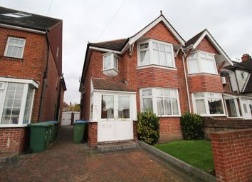 Thumbnail 3 bed semi-detached house to rent in Charlton Road, Shirley, Southampton