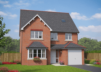 Thumbnail 5 bedroom detached house for sale in Village Road, Northop Hall, Flintshire