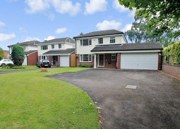 Thumbnail 4 bed detached house for sale in Damson Lane, Solihull