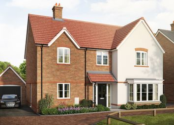 "Thumbnail 4 bed detached house for sale in ""The Kendal"" at Saunders Way, Basingstoke"
