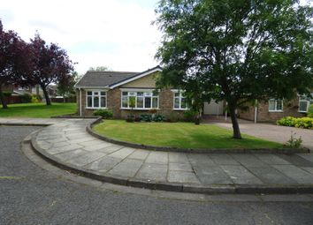 Thumbnail 3 bed bungalow for sale in Morwick Close, Cramlington